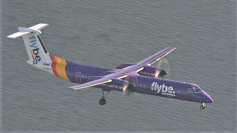 £106m rescue plan for struggling airline Flybe