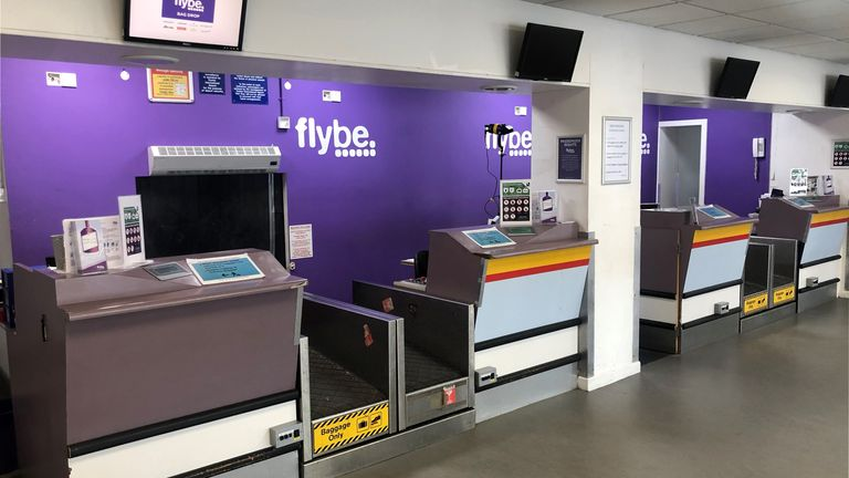 Exeter Airport is Flybe's head quarters
