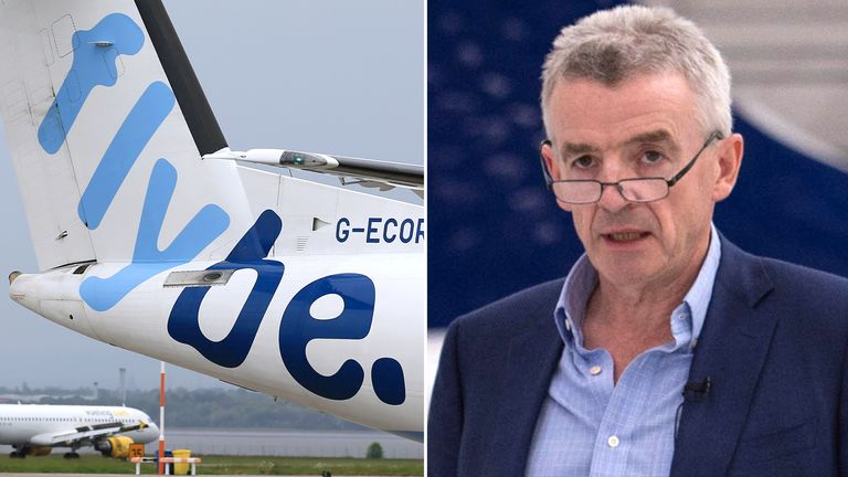 Flybe and Ryanair's Michael O'Leary