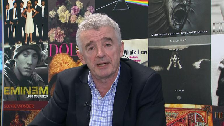 Ryanair boss Michael O'Leary said the government deal to bailout Flybe amounted to a 'nasty cover up subsidy to billionaires'