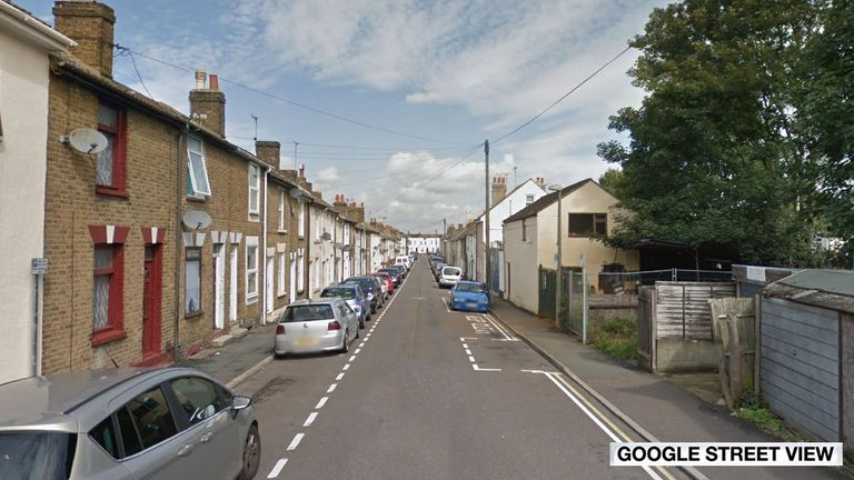 A 35-year-old man was stabbed to death on Fox Street in Gillingham in December