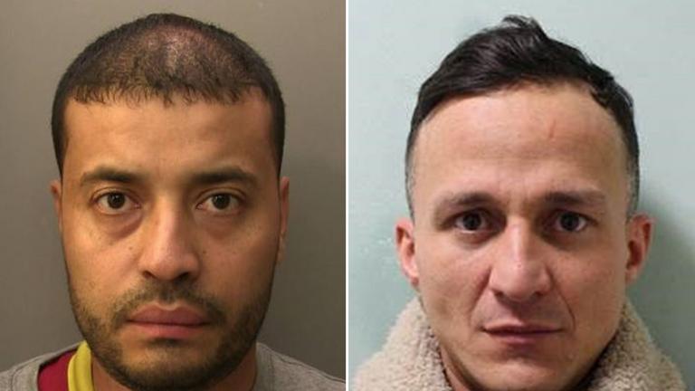 Camilo Carvajal and Ciro Troyano. Pic: Surrey Police