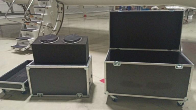 Turkey has released an image of the music equipment box Carlos Ghosn is believed to have left Japan inside