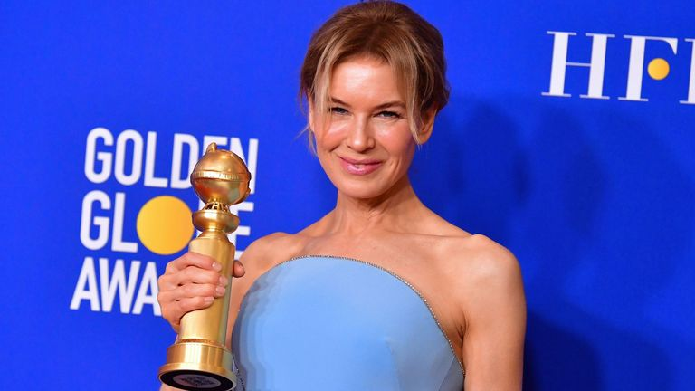 Golden Globes best actress (drama) Renee Zellweger