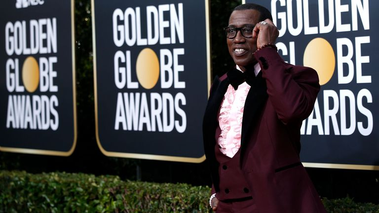 Wesley Snipes at the Golden Globes 2020