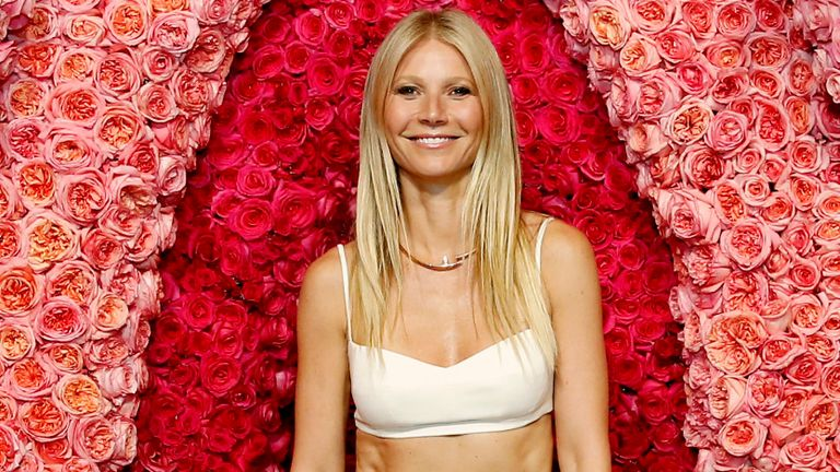 Gwyneth Paltrow attends the Goop lab Special Screening in Los Angeles, California on January 21, 2020