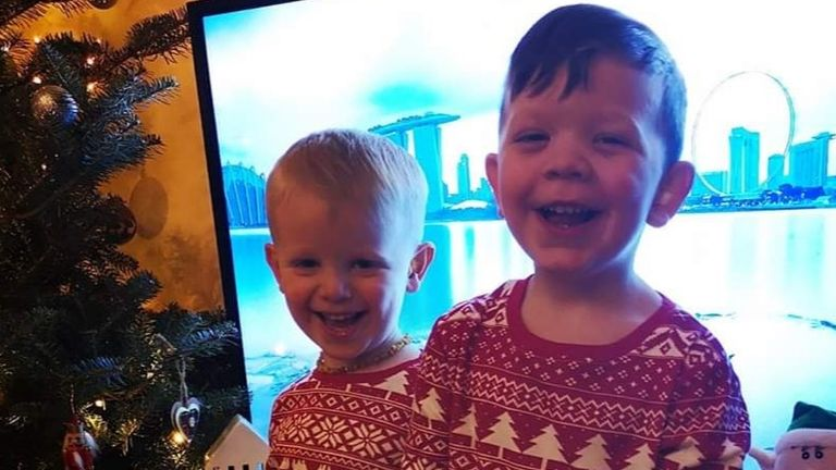 Zac, 3, died and his 4-year-old brother Harley was critically injured
