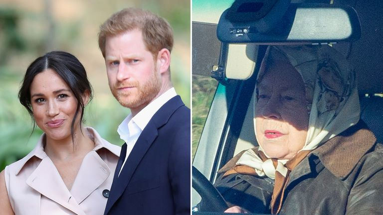 The Queen will meet senior members of the family over Harry and Meghan's decision to step back