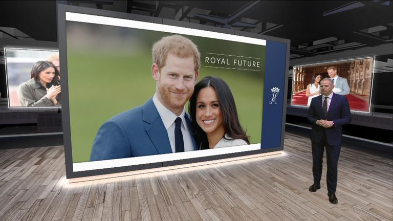 Sky's business correspondent Paul Kelso looks at what Harry and Meghan going financially independent from the taxpayer actually means.