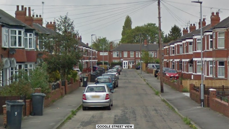 The fire was on Wensley Avenue in Hull