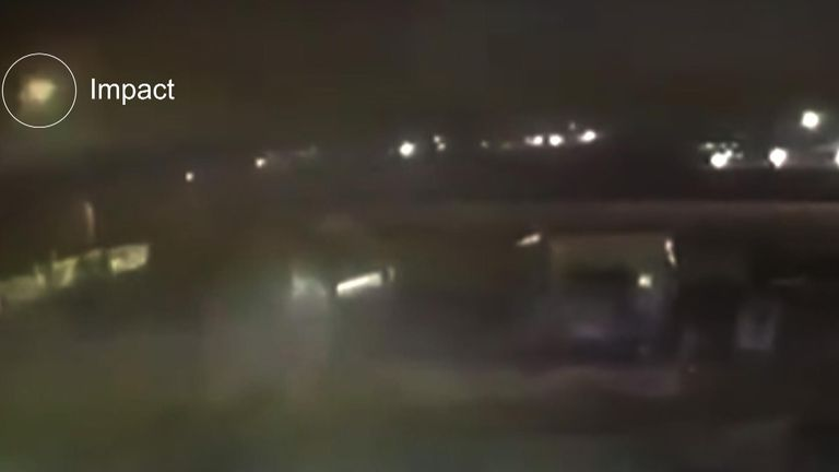 New CCTV footage has emerged which purports to show two missiles launching in Tehran and hitting the Ukrainian passenger jet