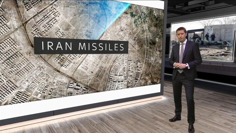 Sky's defence correspondent Alistair Bunkall has been assessing the evidence of whether the plane was hit by a missile in Iran.