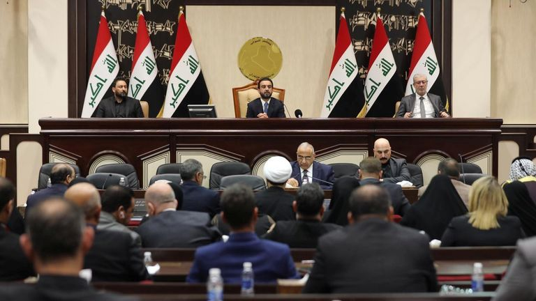 Iraq parliament