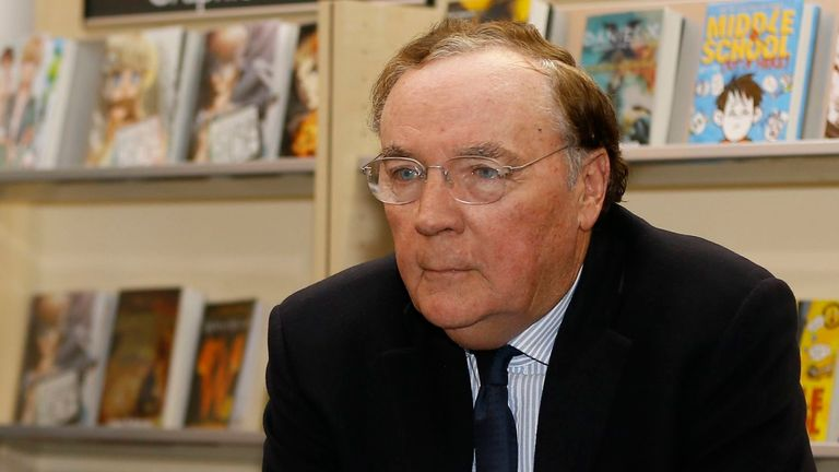 James Patterson has reportedly sold more than 300 million copies of his books