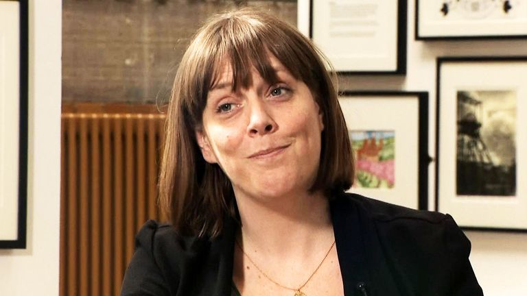 Jess Phillips interview on Sophy Ridge on Sunday.