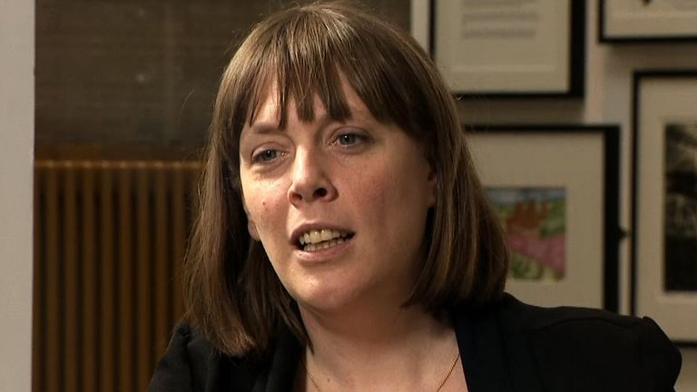 Jess Phillips MP on Sophy Ridge on Sunday.