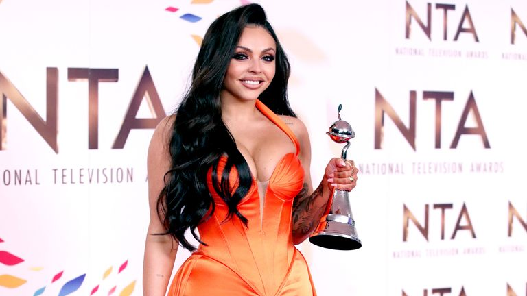 Little Mix's Jesy Nelson won the best factual entertainment award for her Odd One Out documentary