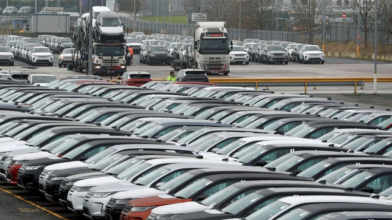 Car giant JLR is cutting jobs at its Halewood plant in Merseyside, according to Unite