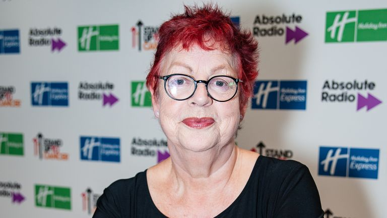 Jo Brand attends Absolute Radio Live 2019 at London Palladium on November 24, 2019 in London, England
