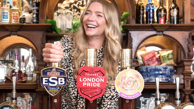 EDITORIAL USE ONLY.Jodie Kidd announces ..Long Live the Local.., a nationwide campaign backed by Britain..s Beer Alliance calling on the Government to cut devastatingly high beer tax to help keep British pubs open, launched from the Chancellor..s local, The Red Lion in Westminster, London. PRESS ASSOCIATION Photo. Picture date: Thursday July 19, 2018. Photo credit should read: David Parry/PA Wire