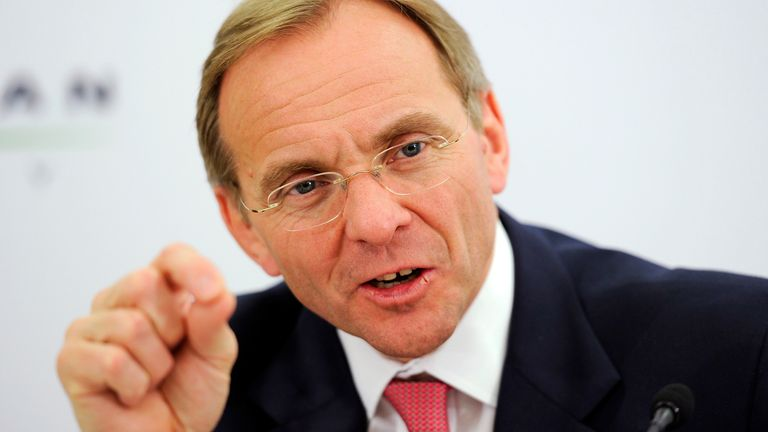 John Manzoni was appointed Chief Executive of the Civil Service in October 2014