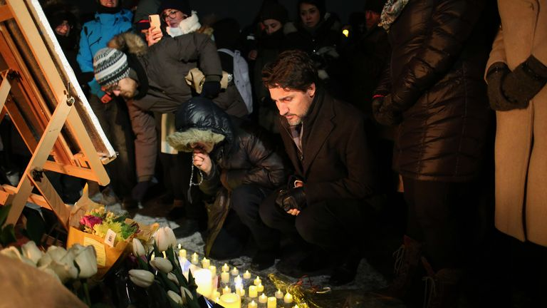 Trudeau has attended vigils for victims of the crash