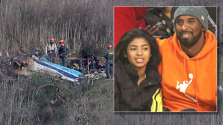 Bodies have been recovered from the scene of the helicopter crash that killed Kobe Bryant and daughter Gianna