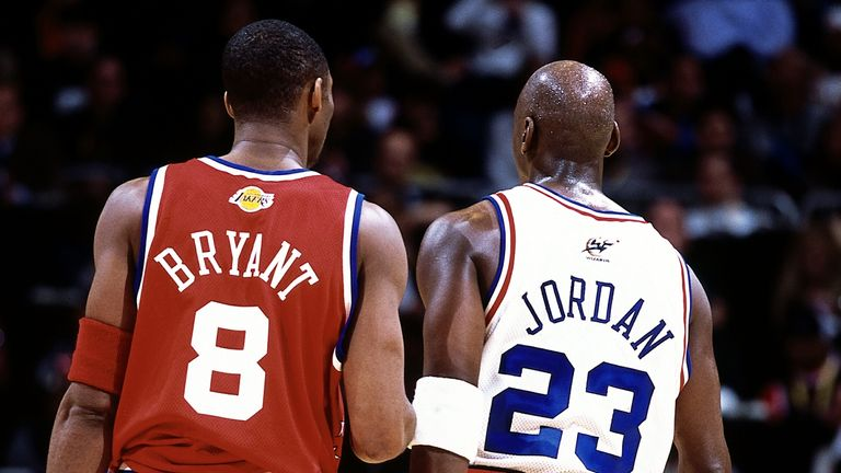 Michael Jordan has led the tributes to fellow NBA legend Kobe Bryant