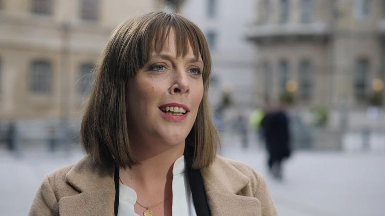 "Outspoken Birmingham Yardley MP Jess Phillips confirmed her bid with a call to elect ""a different kind of leader"""