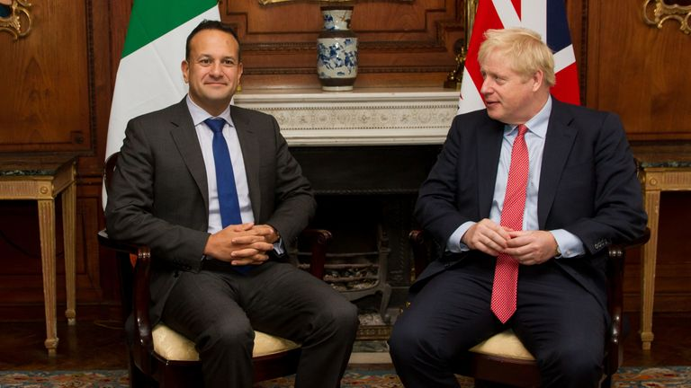 Leo Varadkar and Boris Johnson will meet leaders of a new power-sharing executive in Belfast