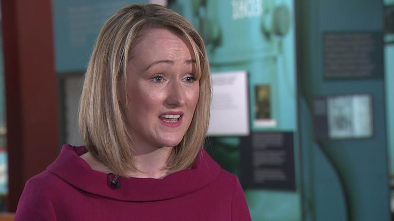 Rebecca Long-Bailey tried to distance herself from Jeremy Corbyn