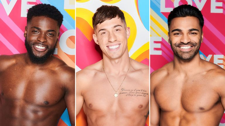 Many young men seek to emulate the kind of physiques seen on Love Island. Pics: ITV PLC