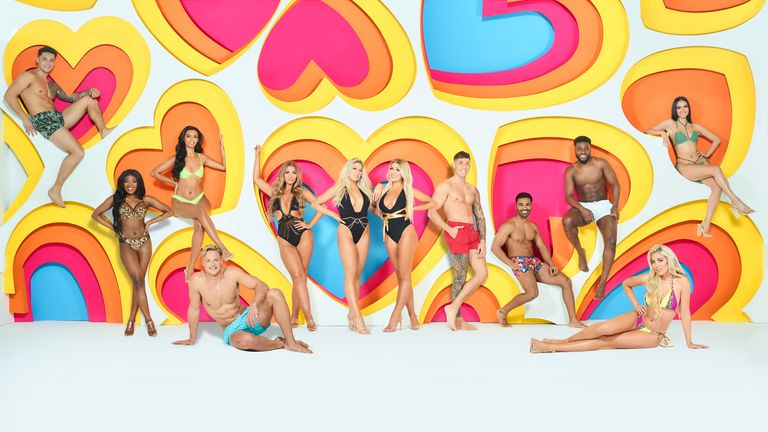 Love Island winter series 2020. Pic: ITV PLC