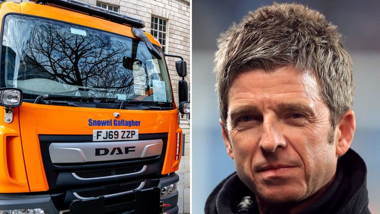Mancunian Oasis legend Noel Gallagher has had a gritter named after him. Pic: Manchester City Council