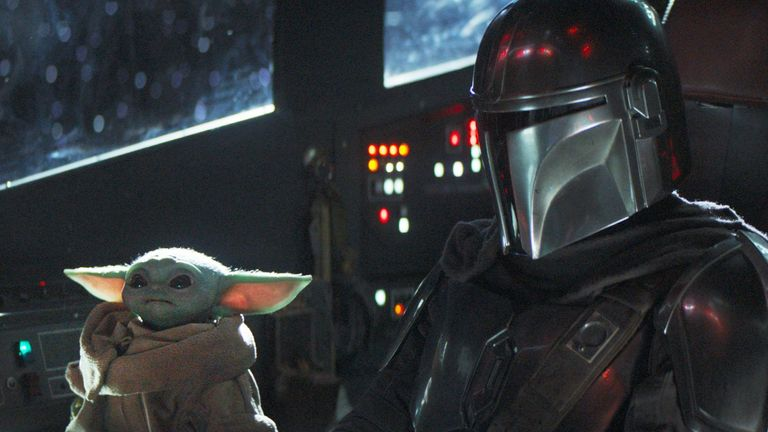 Disney + & # 39; s The Mandalorian. Pic: Disney +
