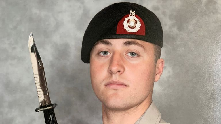 Royal Marine recruit Ethan Jones 'wanted to join the best of the best,' his family said
