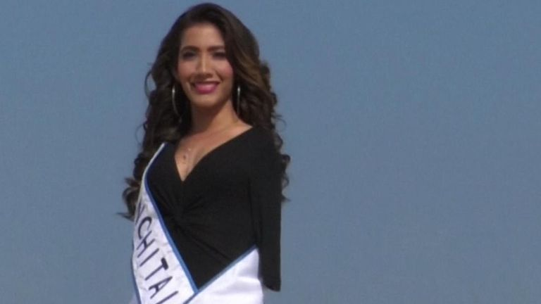 Ana Gabriela Molina, a Mexican model, is campaigning for greater inclusion in state and national beauty pageants.