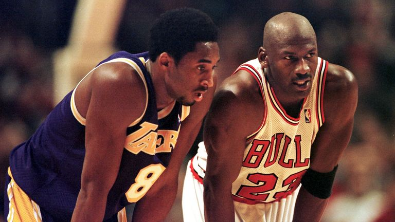 Bryant and Jordan facing off in 1997