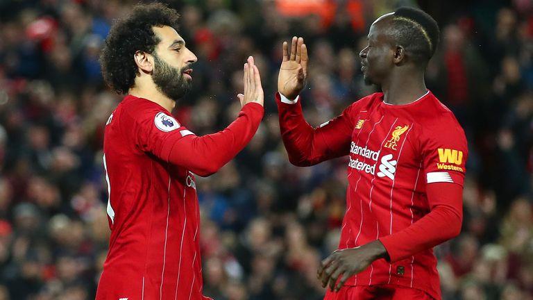 Mohamed Salah and Sadio Mane