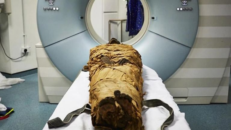 The voice of a 3,000-year-old Egyptian mummy has been reproduced by 3-D printing a vocal tract.