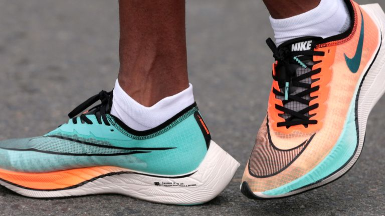 Distance runners will be allowed to wear Nike Vaporfly shoes, World Athletics has said