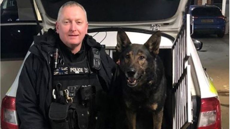 PD Odin and handler Carl Woodall (1).