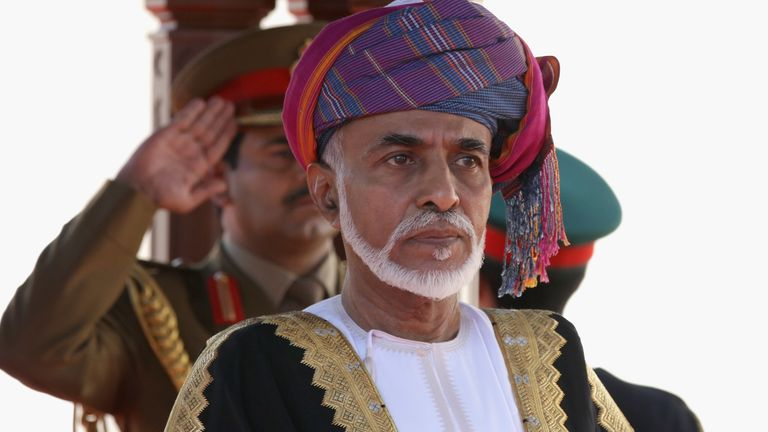 The Sultan of Oman has died