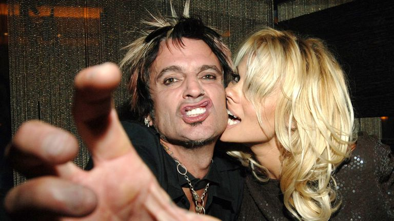 Anderson used to married to Motley Crue drummer Tommy Lee