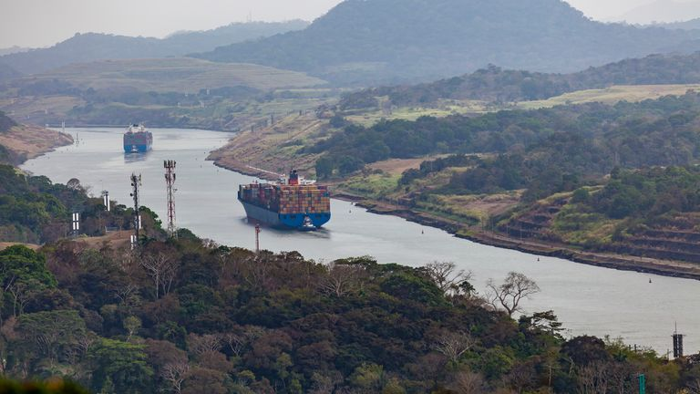 The Panama Canal will begin a freshwater surchage on ships