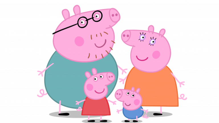 Peppa Pig has a new voice. Pic: Viacom