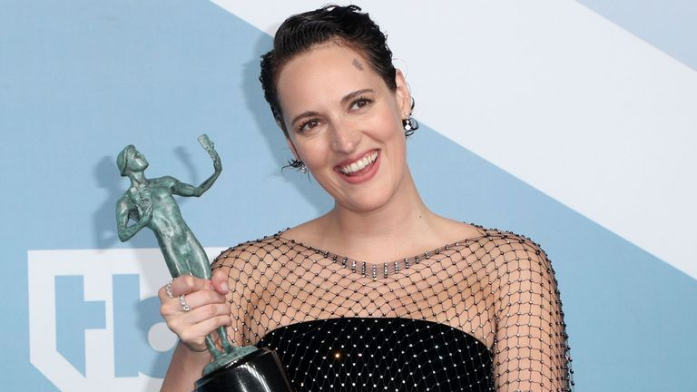 Phoebe Waller-Bridge won best female actor in a comedy series for Fleabag