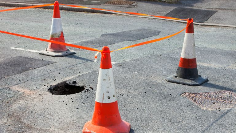 A pothole is repaired every 17 seconds in England and Wales according to the LGA
