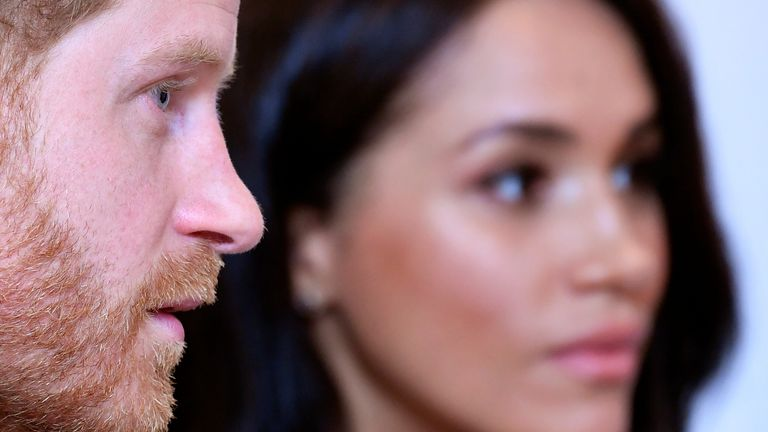 Harry and Meghan are 'required to step back from royal duties'