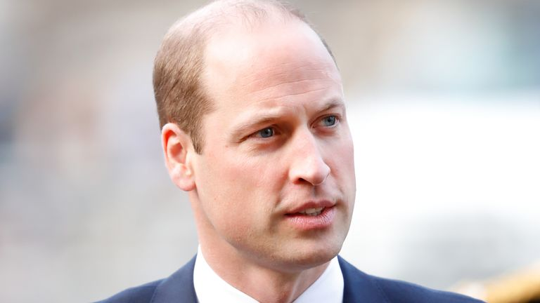 Prince William, Duke of Cambridge attends a Service of Thanksgiving for the life and work of Sir Donald Gosling at Westminster Abbey on December 11, 2019 in London, England. Sir Donald Gosling, Chairman of National Car Parks (NCP) an honorary Vice-Admiral of the Royal Navy and former owner of the motor yacht Leander G, died on September 16 2019. (Photo by Max Mumby/Indigo/